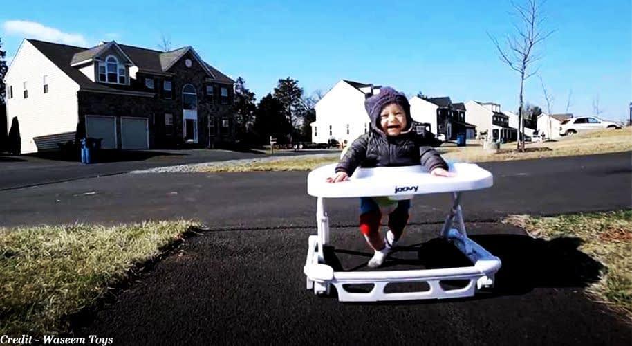 When can a baby start using walker