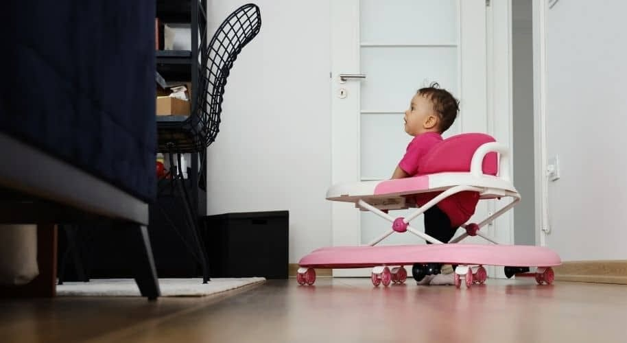 What Features Should I Look For In A Baby Walker For My Expensive Hardwood Flooring?