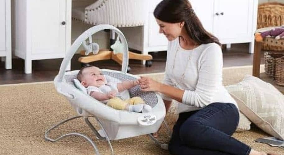 Best portable baby swing with ac adapter-featured